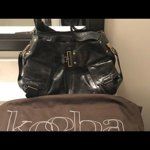 Black Kooba bag